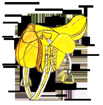 Конное седло
